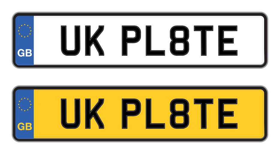plaque britannique plaque étrangère permis conduire